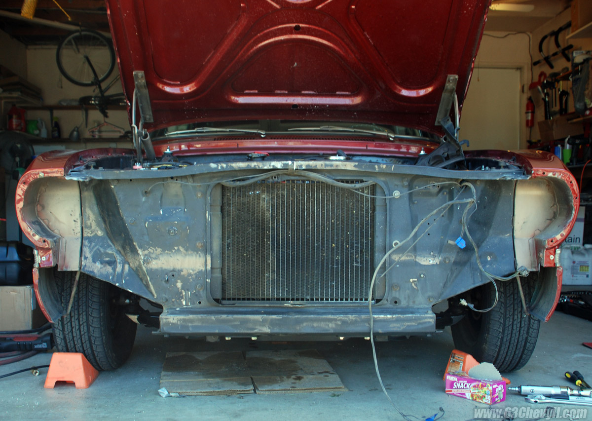 My 1963 Chevy Ii Nova Restoration Information And Photo Gallery